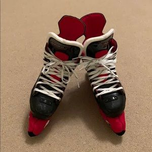 Boys Bauer ice skates
